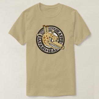 Giraffe Safari Seal T-Shirt