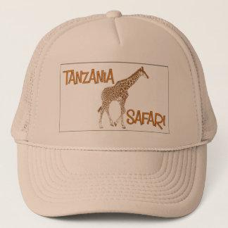 Giraffe Safari Tanzania Cap