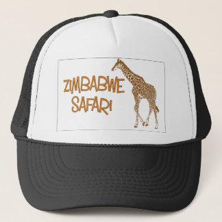 Giraffe Safari Zimbabwe Cap