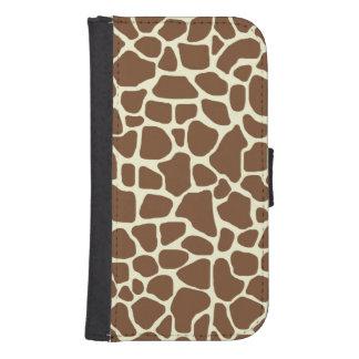 Giraffe Samsung S4 Wallet Case
