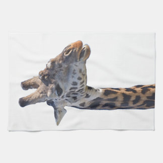 Giraffe Says Hello Hand Towels