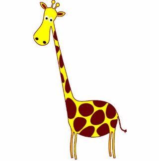 Giraffe Sculptures, Pins, Key Chains, or Magnets Photo Cutouts