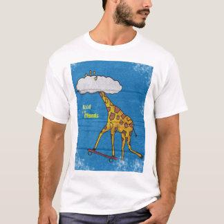 Giraffe Skate - BoardAnimals T-Shirt