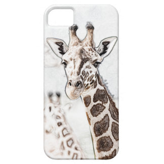Giraffe Sketch Case For The iPhone 5