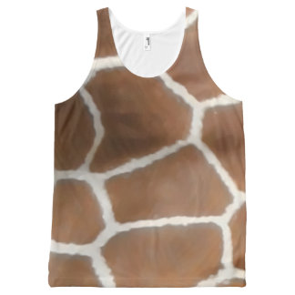 GIRAFFE SKIN All-Over-Print TANK TOP