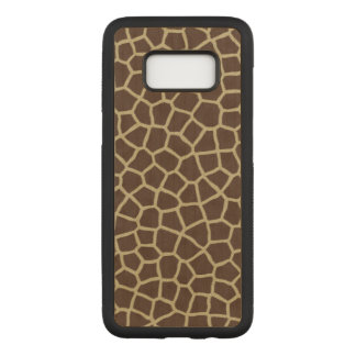Giraffe Skin Carved Samsung Galaxy S8 Case