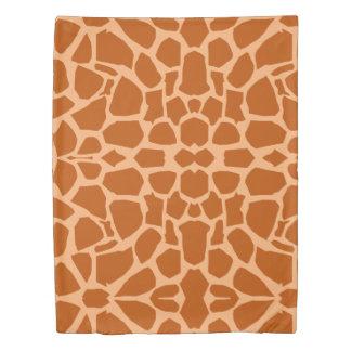 Giraffe Skin Duvet Cover