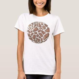 giraffe skin gazing ball T-Shirt
