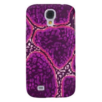 Giraffe Skin Purple Case Samsung Galaxy S4 Cover