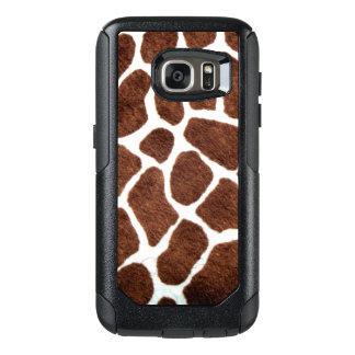 Giraffe spots OtterBox samsung galaxy s7 case