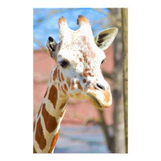 Giraffe Stationery