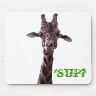 Giraffe, 'SUP? Mouse Pad