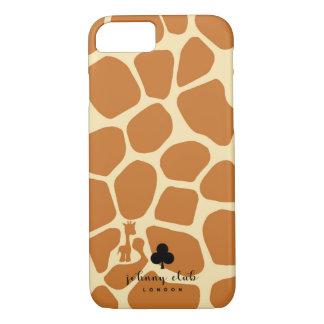 Giraffe (Tan) iPhone 7 Case
