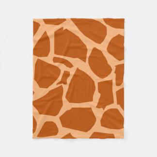 Giraffe Texture Fleece Blanket
