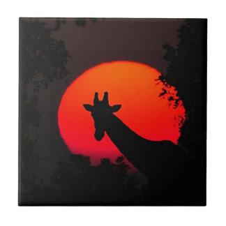 Giraffe Tile