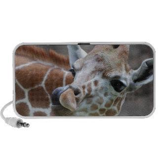 Giraffe Tongue Portable Speakers