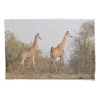 Giraffe Twins Africa Personalize Destiny Destiny'S Pillowcase