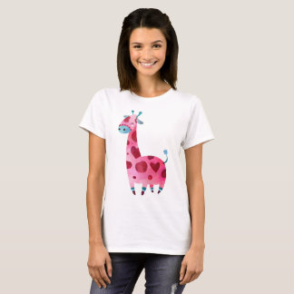Giraffe water color T-Shirt