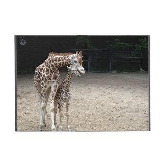 Giraffe with child covers for iPad mini