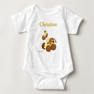Giraffe With Your Personal Name Kids T-Shirt