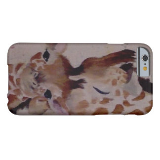 GiraffeAndBabyIphoneCase Barely There iPhone 6 Case