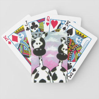 Giraffees Two Zazzle Bicycle Playing Cards