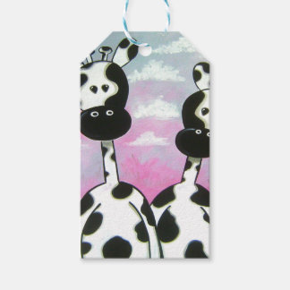 Giraffees Two Zazzle Gift Tags