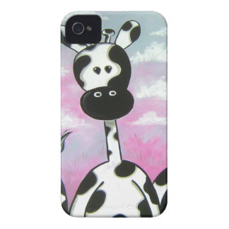 Giraffees Two Zazzle iPhone 4 Cover