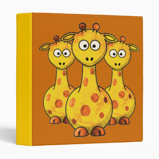"GIRAFFES 1.5"" Ring Binder"