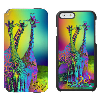 Giraffes 2 Options Incipio Watson™ iPhone 6 Wallet Case