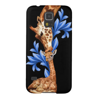 Giraffes- A Mother's love Case For Galaxy S5