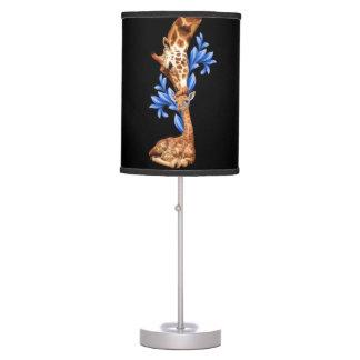 Giraffes- A Mother's love Desk Lamps