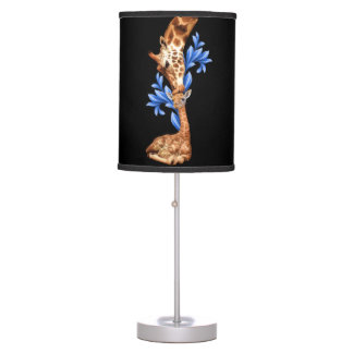 Giraffes- A Mother's love Table Lamp