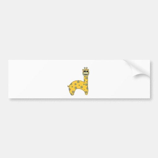 Giraffes Bumper Sticker