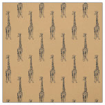Giraffes Fabric