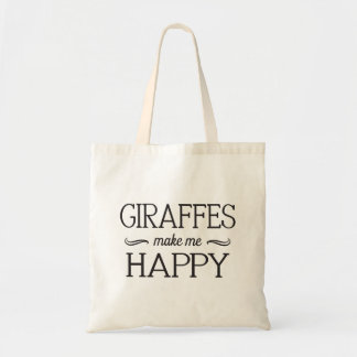 Giraffes Happy Bag - Assorted Styles & Colors