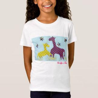 Giraffes in Dots T-Shirt