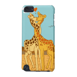 Giraffes In Love iPod 5 Case