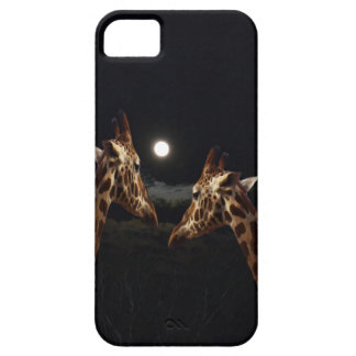 Giraffes_In The Moonlight. iPhone 5 Cover
