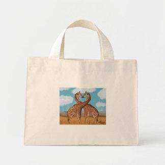 Giraffes Love Bags -Tiny Tote