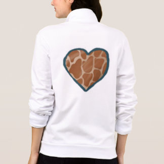 Giraffes Love Heart Jackets