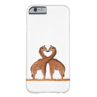 Giraffes Love iPhone Case