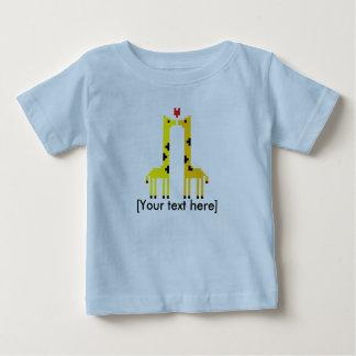 Giraffes love (With text) Baby T-Shirt