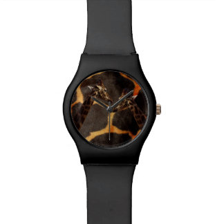 Giraffes On Exotic Giraffe Pattern, Watch