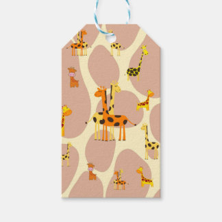 Giraffes Pack Of Gift Tags