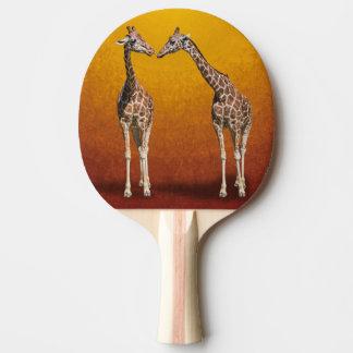 GIRAFFES Ping-Pong PADDLE
