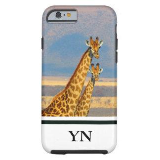 Giraffes Tough iPhone 6 Case