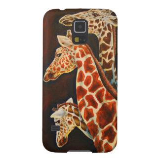 Giraffes, We Three African Animal Art Case For Galaxy S5