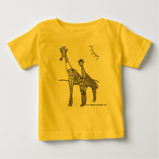 giraffly cute, no stretch of the imagination baby T-Shirt