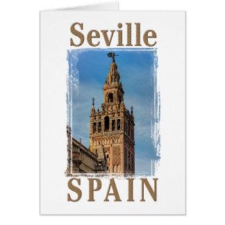 Giralda Bell Tower, Seville, Spain Card